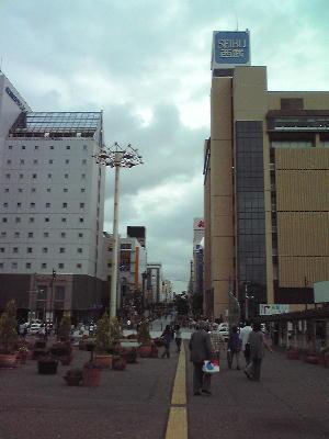旭川駅前市街