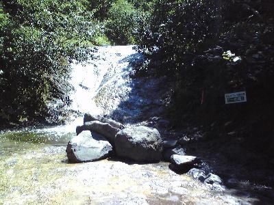 カムイワッカ湯の滝1の滝